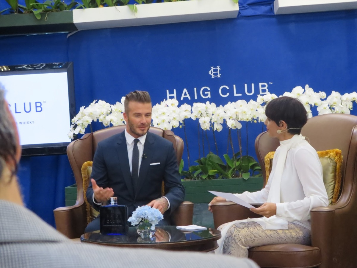 Haig Club Beckhams (Beckons)