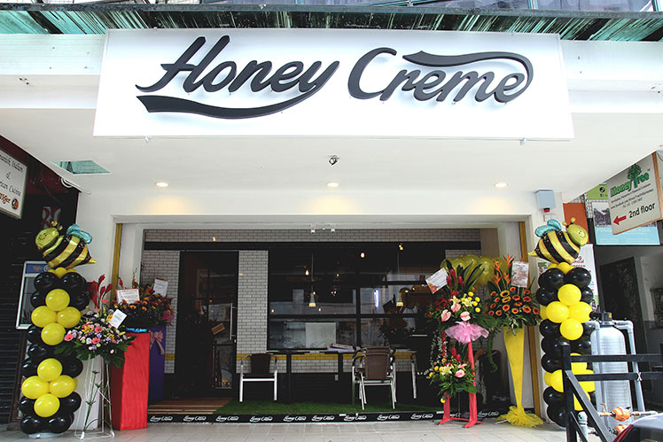 Honey Creme ice-cream Desa Sri Hartamas