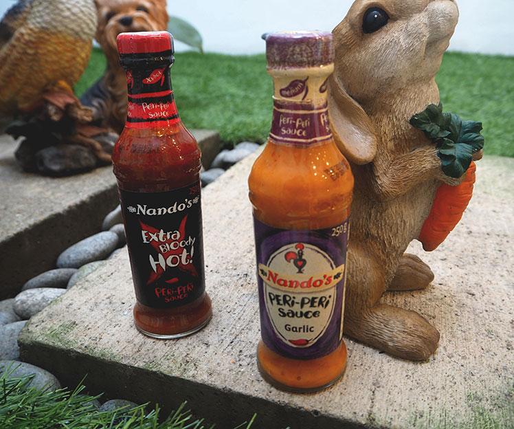 Nando's cuti-cuti ayam