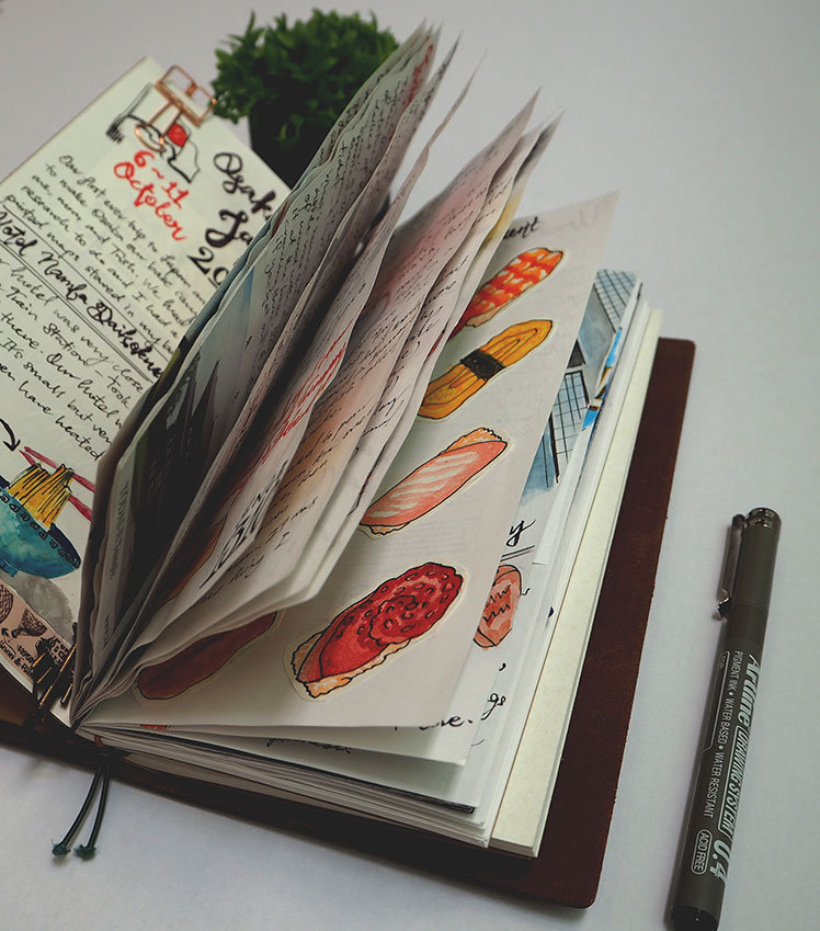 Midori Traveler's Notebook - Japan Travel Journal