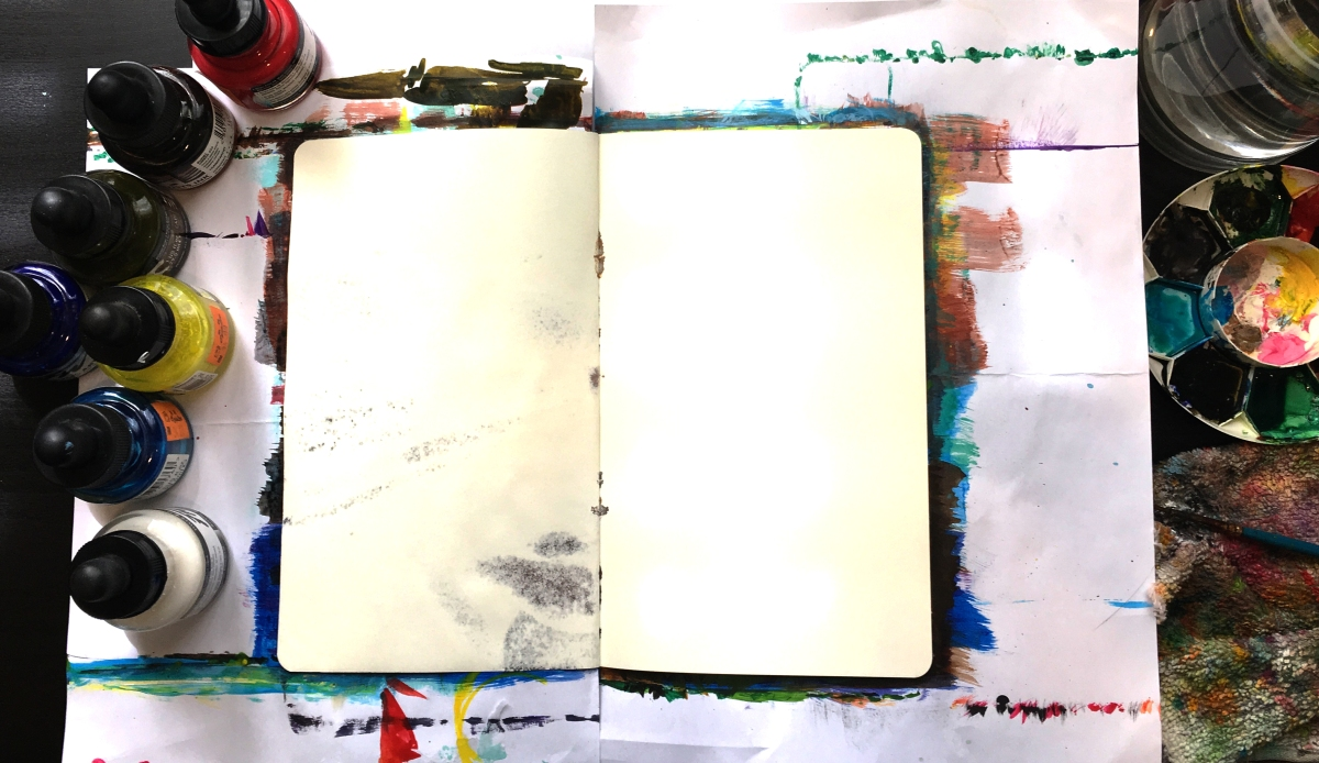 Why Acrylic Ink is Perfect for Moleskine Sketchbooks